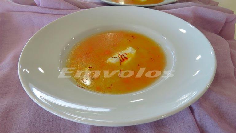 Σούπα κοτόπουλου βελουτέ