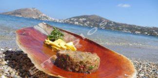 Ταρτάρ τόνου με τορτίγιας