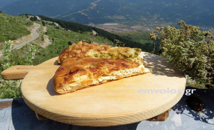 Αυθεντική τυρόπιτα βουνίσια