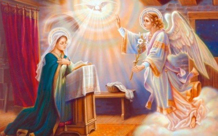 Αποτέλεσμα εικόνας για ο ευαγγελισμός της θεοτόκου