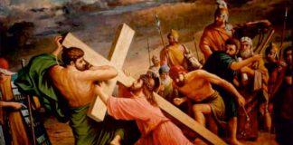 Ο Κύριος με τον σταυρό του μαρτυρίου