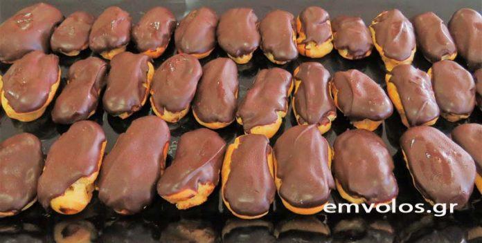 Εκλεράκια με κρέμα μαύρης σοκολάτας - Η αυθεντική γαλλική συνταγή