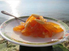 Κυδώνι γλυκό του κουταλιού -Παραδοσιακή συνταγή της Αιδηψού
