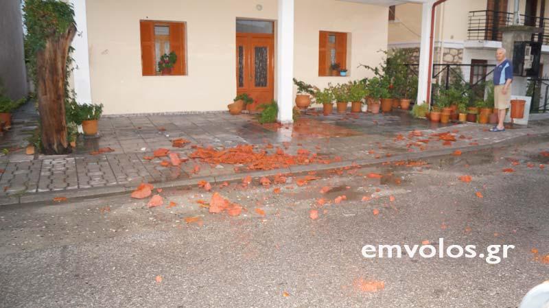 DSC00388 - Εικόνες καταστροφής από την θεομηνία στα Τρίκαλα (φώτο)