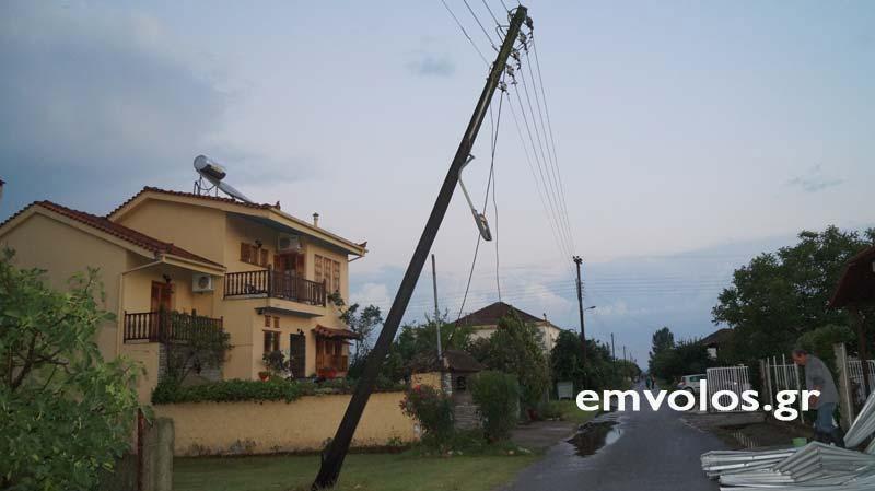 DSC00393 - Εικόνες καταστροφής από την θεομηνία στα Τρίκαλα (φώτο)