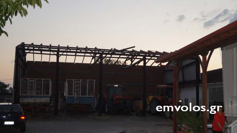 DSC00396 - Εικόνες καταστροφής από την θεομηνία στα Τρίκαλα (φώτο)