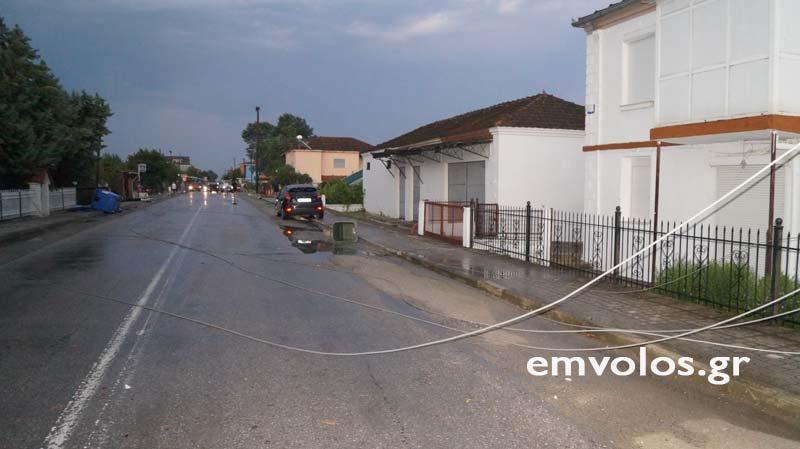 DSC00397 - Εικόνες καταστροφής από την θεομηνία στα Τρίκαλα (φώτο)