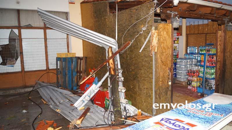 DSC00402 - Εικόνες καταστροφής από την θεομηνία στα Τρίκαλα (φώτο)