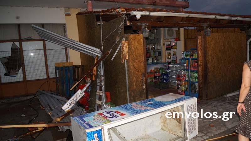 DSC00403 - Εικόνες καταστροφής από την θεομηνία στα Τρίκαλα (φώτο)