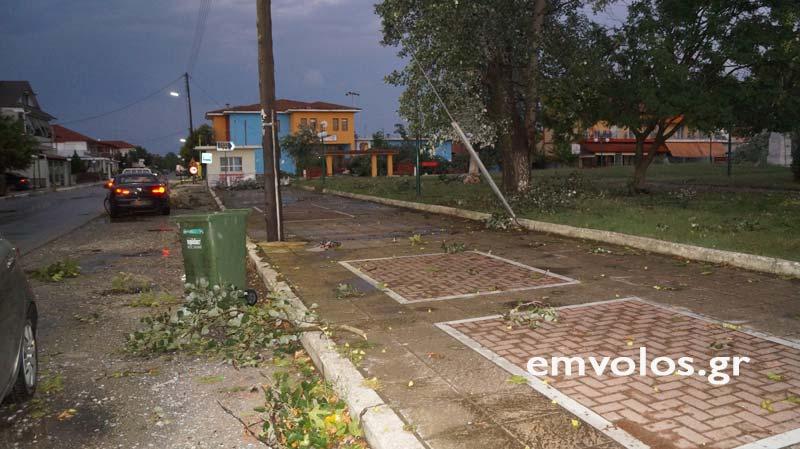 DSC00408 - Εικόνες καταστροφής από την θεομηνία στα Τρίκαλα (φώτο)