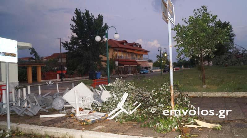 DSC00411 - Εικόνες καταστροφής από την θεομηνία στα Τρίκαλα (φώτο)