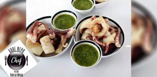 Τηγανητά θράψαλα με σάλτσα μαϊντανού