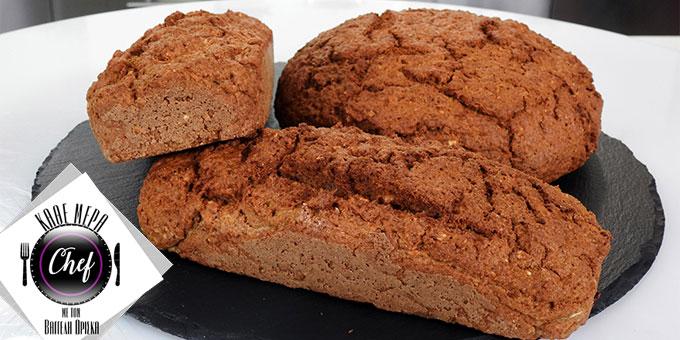 Ψωμί σόδας με βρώμη