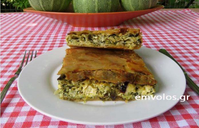 Χορτοκολοκυθοτυρόπιτα από το Χάνι Ρέρεση - Μια πίτα … μα τι πίτα