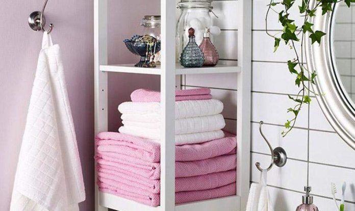 Μπάνιο: Πώς να τακτοποιήσετε τις πετσέτες σας με στιλ!