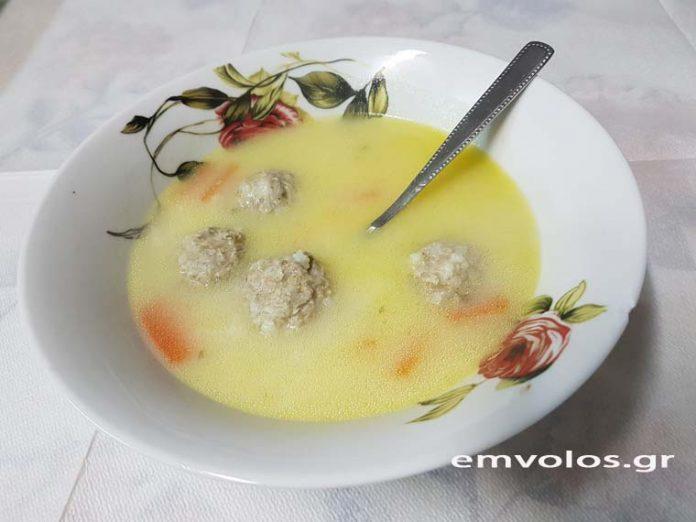 Γιουβαρλάκια σούπα - Η σούπα που ζεσταίνει
