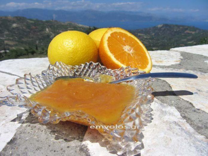 Μαρμελάδα πορτοκάλι Ναυπλιώτικη