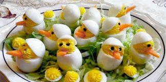 Πασχαλινά αβγά - κοτοπουλάκια
