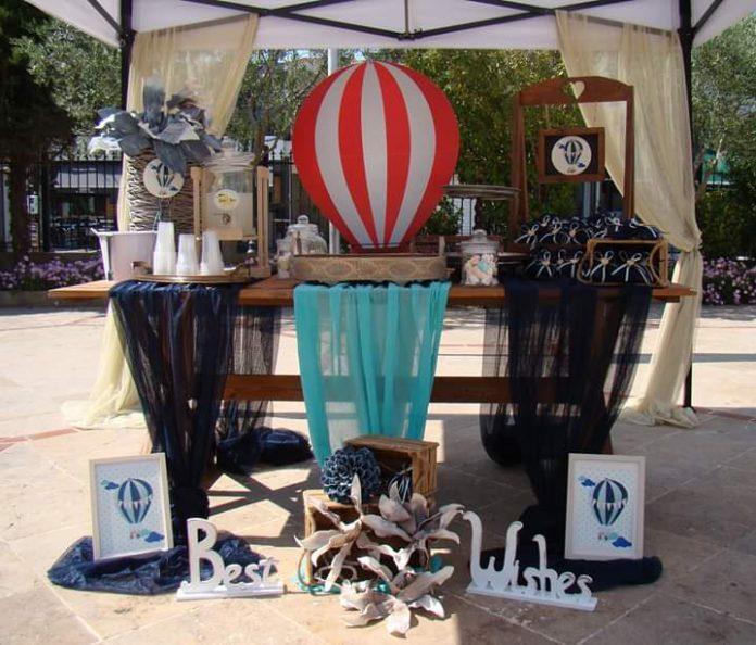 Best Wishes: Βάπτιση με θέμα αερόστατο