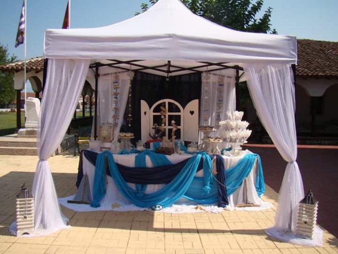 Best Wishes Μία καλοκαιρινή βάπτιση με θέμα ναυτικό