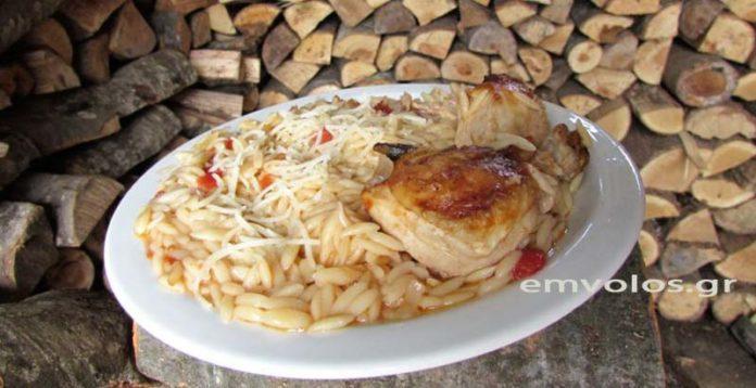 Φουρνιστό γιουβέτσι με κοτόπουλο