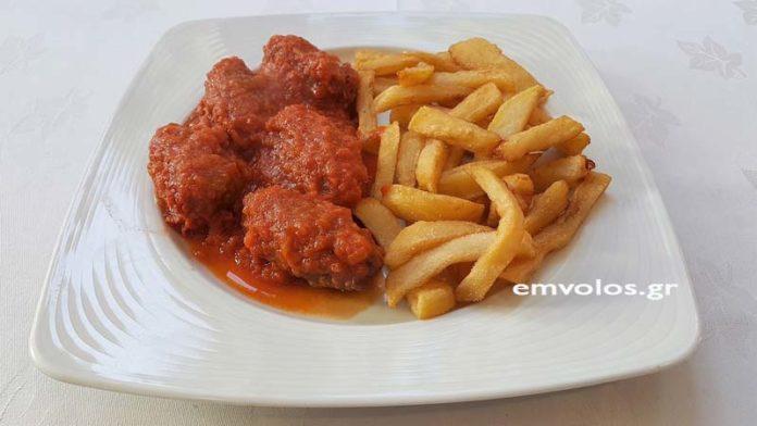 Σουτζουκάκια κοτόπουλου φουρνιστά