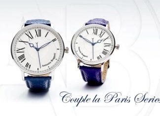 Antonio Boggati: Υπέροχα ρολόγια για την γιορτή των ερωτευμένων. Το ένα συμπληρώνει το άλλο όπως και τα ζευγάρια.