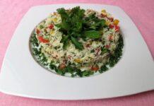 Ριζοσαλάτα με φρέσκα λαχανικά - Μια χορταστική καλοκαιρινή σαλάτα που γίνεται σε χρόνο dt.