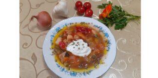 Μπορς, σούπα λαχανικών