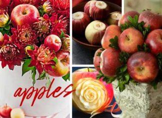 Διακοσμητικές ιδέες με μήλα